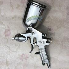 400cc HVLP Air Gravity Feed Paint Spray Gun Auto Car Detail Touch Up Spot Repair