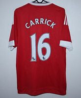 Manchester United England home shirt 15/16 #16 Carrick Adidas BNWT Size - M