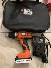 black and decker 20v cordless drill No Box