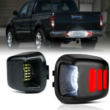 2 x LED License Plate Lights Lamps SET For Nissan Frontier Xterra