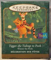 Hallmark - Tigger-ific Tidings to Pooh - Winnie The Pooh - Disney Ornament