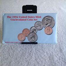1994 U.S. mint 12 pc. uncirculated coin set P & D