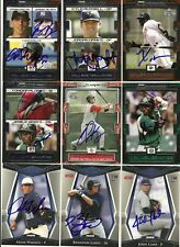 2008 TriStar JEREMY BLEICH CORD PHELPS Signed Card autograph RC YANKEES