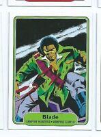 2015 Marvel Fleer Retro insert 1982 style 15 Blade