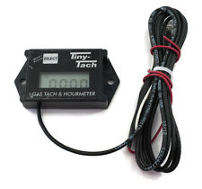 Tiny Tach TT2A Digital Hour Meter / Tachometer - Adjustable Resettable Job Timer