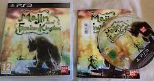 Majin And The Forsaken Kingdom + Manuel Playstation 3 PS3-Rare jeu d'aventure