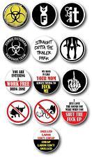 13 Pack Hard Hat Crude Humor Funny Joke Decal Sticker 3M Toolbox Welder Helmet