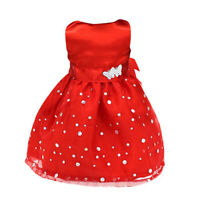 Hot Sleeveless Party Prom Gown Dress Clothing for 18 Inch American Girl Dolls