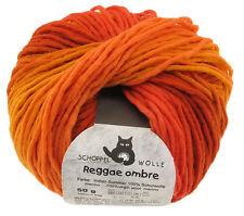 13€/100g Schoppel Wolle 50g Reggae ombré Farbe 1873 Indian-Summer