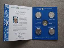 10 Euro FIFA WM 2006 alle vier Silber-Münzen im Set in Kapsel