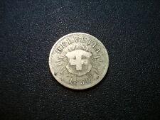 1850BB SWITERLAND 5 RAPPEN COIN. NICE GRADE