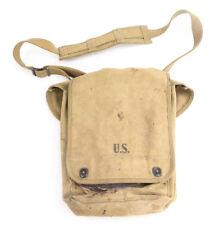 Porte carte US, premier modèle US ARMY WW2  (matériel original)