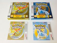 Pokemon Silver + Gold (Download Card in a Box) Nintendo 3DS BRAND NEW