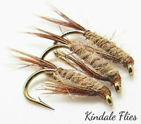 Hare Ear Diawl Bachs size 10 (Set of 3) Fly Fishing Flies