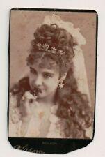 Vintage CDV Adelaide Neilson British stage actress. Sarony Photo