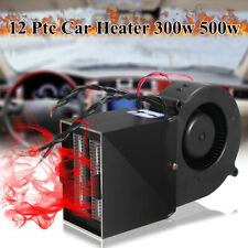 300W 500W 12V Car Truck Fan Heater Defroster Demister Heating Warmer Windscreen