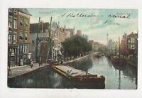 Rotterdam Delftsche Vaart Netherlands 1907 Postcard 025b