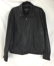 Golden Bear Sportswear Leather Jacket Style I 3214 Gulf Gulfstream Size L Large