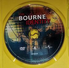 The Bourne Identity - Matt Damon - DVD - Region 4 - Disc Only