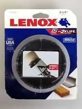 "Lenox Tools 1772023 3-1/4"" 83mm Bi-Metal Speed Slot Hole Saw, New"