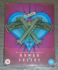 Romeo+Juliet (blu-ray) Steelbook. NEW & SEALED (UK release).