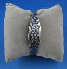 Armreif Niello Tula 875er Silber Russia Russland