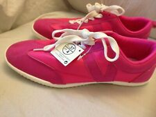 Ladies Trainers, brand new, pink, size 4 lace up with labels