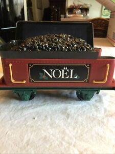Eztec G-Scale Christmas North Pole Express Train Railroad Coal Tender NOEL