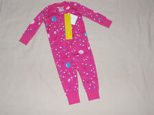 NWT Girls Zip Up Sleeper Pajamas PJs Hanna Andersson 90 Size 3t 3 NEW