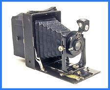 ICA Volta 146/1 Folding Plate Camera Novar Anastigmat f6.8 135mm Lens - EXTRAS !