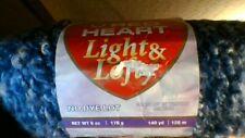New listing New Skein Red Heart Light & Lofty Yarn - Antique Blue - 6 Oz, 140 Yds, #6Wgt