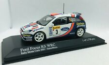 Minichamps 1/43 Ford Focus RS WAC Rally Limited Monte Carlo 2001 430018903