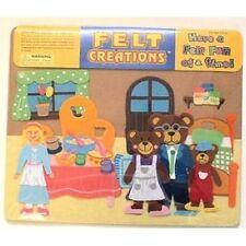 FELT Creations: Goldilocks and the 3 Bears