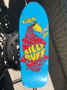 G&S Billy Ruff Chalice Reissue Blue NOS Skateboard Deck Neil Blender Hosoi Gonz