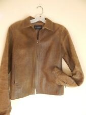 gamp, italian leather jacket, ostrich , womens, lined, green