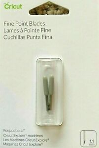 Cricut  Fine Point Blades 1.1mm For Explore Replacement Blade 2003534 NEW