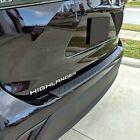For: Toyota Highlander 2020-2022 Rear Bumper Protector #RBP-019