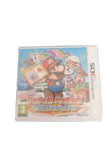 SUPERBE JEU NINTENDO 3DS PAPER MARIO STICKER STAR COMPLET