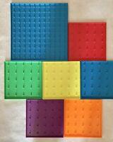 Ideal School Supply Company Geoboards Math Manipulatives Set Of 7 Homeschool