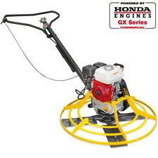 "36"" Honda GX 160 Series Walk Behind Power Trowel concrete cement surface finish"
