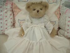 """Bearington Collection Plush  Bear  14"""" Jointed Angel - great condition"""