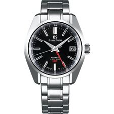 New Grand Seiko Mechanical High-Beat GMT Stainless Steel Men's Watch SBGJ203