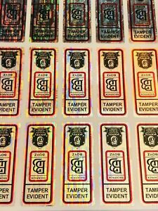 *NEW* BACKPACK BOYZ TAMPER EVIDENT STICKERS FOR COOKIES BAGS.