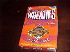 1995 Atlanta Braves Baseball World Series Champions Wheaties Cereal Box