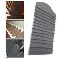 24*65cm Non-slip Adhesive Carpet Stair Treads Mats Staircase Step Rug Cover