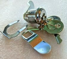 3pk Cabinet Lock Replacement Desk Drawer Lock Keys Steel Part File Tool Box