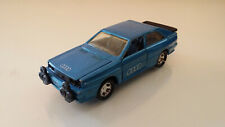 Matchbox SuperKings Audi Quattro Blue K95 1982