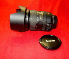 Versatile Nikon AF-S DX NIKKOR 18-200mm f/3.5-5.6G ED VR Lens with Hood & Filter