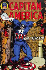 [527] CAPITAN AMERICA ed. Corno 1982 n.  4 stato Buono