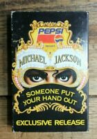 Michael Jackson Someone put your hand out cassette tape EP EPC9827894